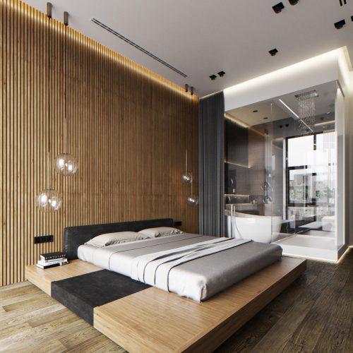 Japanese-platform-bed-in-master-bedroom-luxury-bedroom-furniture-images